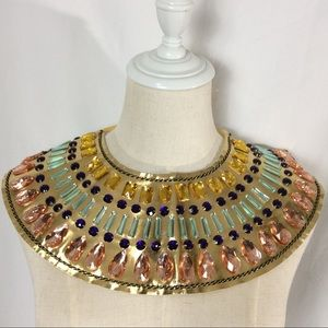 Egyptian Collar Accessory For Costume